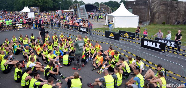 Letzte Sicherheitshinweise für die 24-Stunden-Läufer bei Mud Masters 2016 in Weeze.