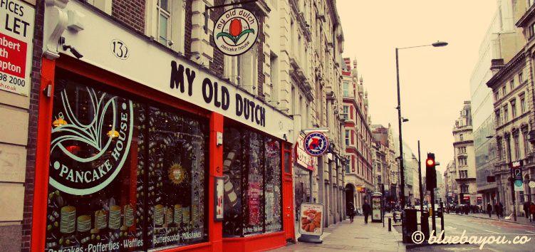 My Old Dutch Pancake House in London.