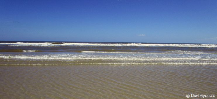 New Smyrna Beach, Florida: Strand und Meer.