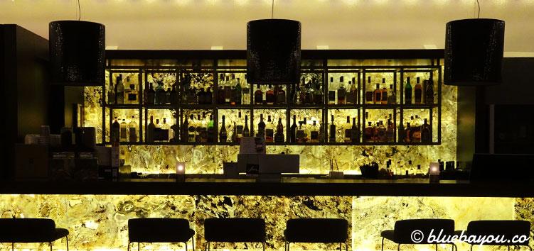 Die Bar des NH Collection Hotel Köln Mediapark.