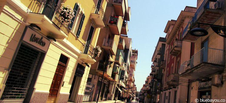 Die Innenstadt in Pescara, Italien.
