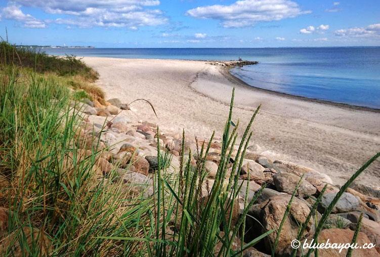 Kurztrip an die Ostsee - nur ein paar Angler begegneten mir hier.