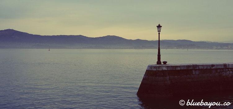 Abendstimmung in Santander.