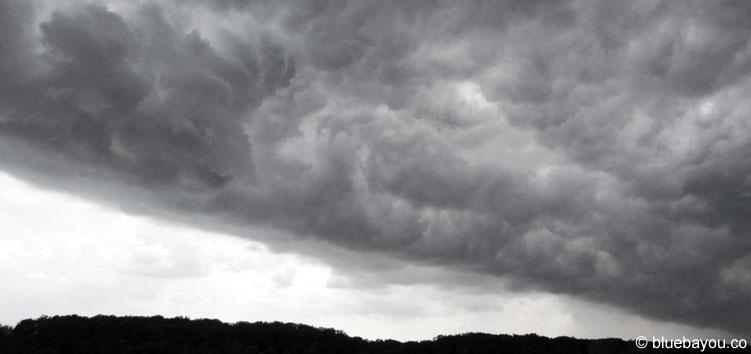 Gewitterwolken über Deutschland - so sieht der Sommer 2016 aus.