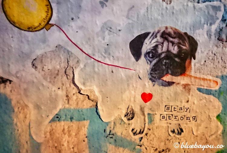 Corona-Graffiti: Stay Strong!