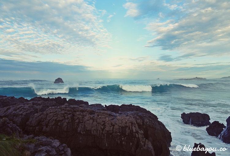 Felsen im Meer in Isla Playa.