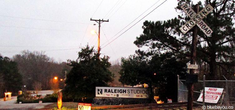 The Walking Dead Location in Senoia, Georgia: Die Raleigh Studios, in denen unter anderem die Gefängnisszenen gedreht wurden.