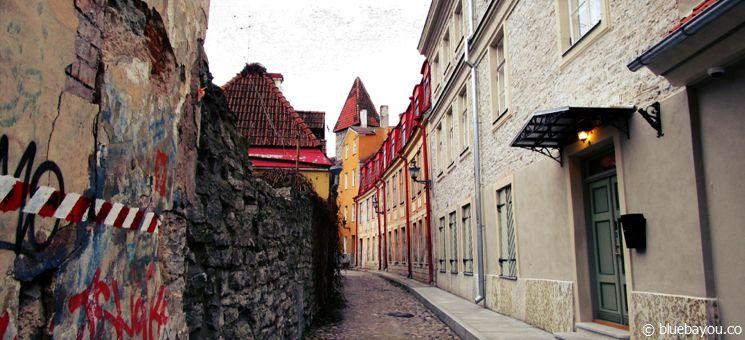 Tallinn, Estland: Ein weiterer Ort, an dem ich alleine neue Wege beschritten habe.