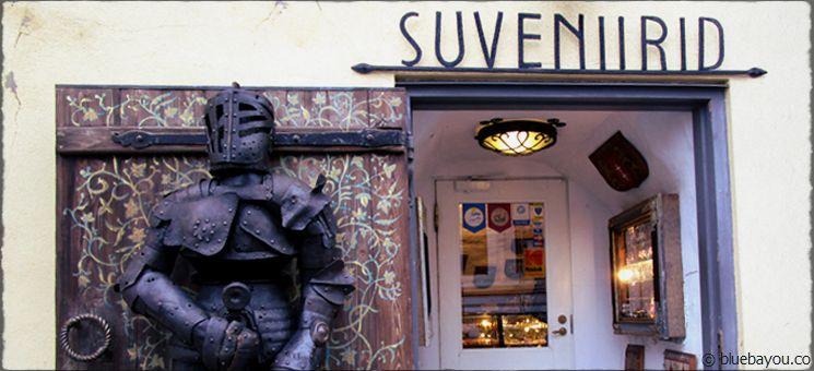 Souvenirshop in Tallinn.