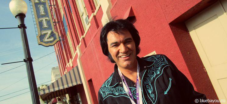 Tim Hendry: Champion des Ultimate-Elvis-Contests während des Georgia Elvis Festivals 2015.