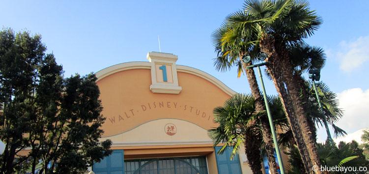 Der Eingang des Walt Disney Studios Parks in Paris.