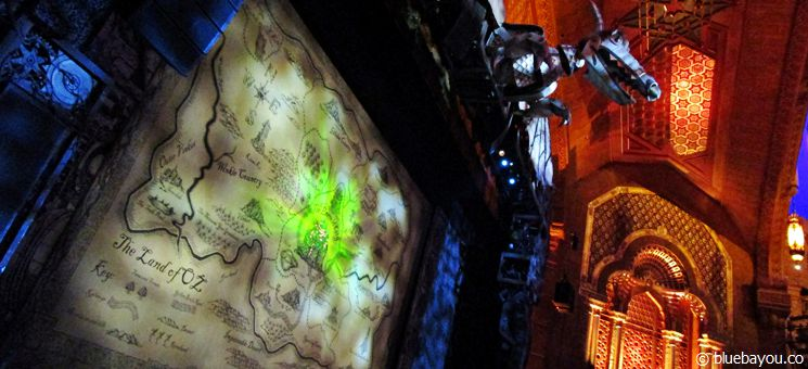 Wicked Musical im Fox Theatre in Atlanta.