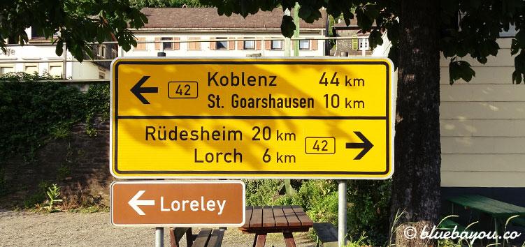 Noch zehn Kilometer: das Finale der Wanderung von Wiesbaden nach St. Goarshausen.